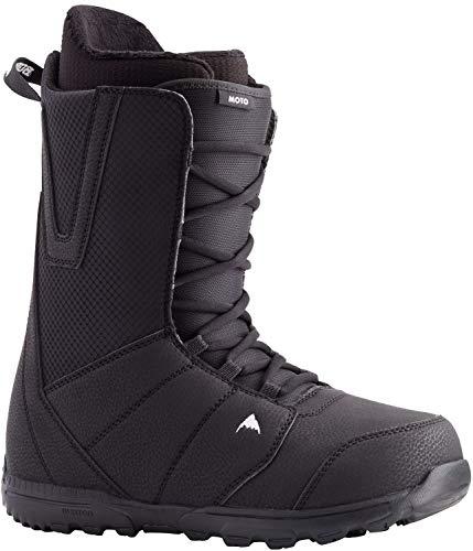 Burton Moto Lace Mens Snowboard Boots Sz 10.5 Black