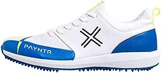 Payntr V Pimple - White & Blue Cricket Shoes - US10/UK9