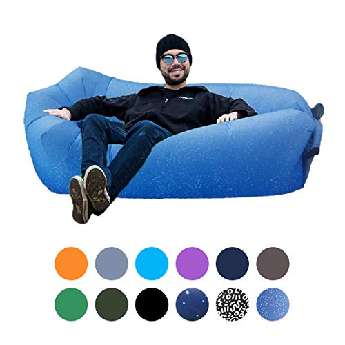 Orsen Inflatable Lounger Portable Hammock Air Sofa with Water...