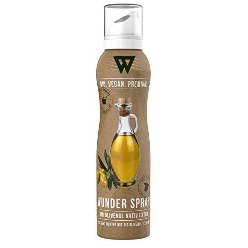 Wunder Bio Cooking Spray - Natives Olivenöl Spray - Kochspray & Backspray - 1 x 200ml (Olivenöl nativ Extra)
