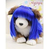 Wigs2you.com オリジナル 動物用 犬 猫 ペットウィッグ かつら コスチューム P-035 S 16.Platinum Blonde