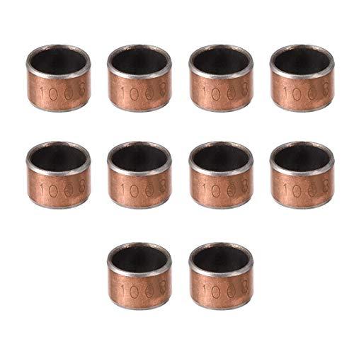 Metric Steel Bushings //Spacer//Sleeve 25 MM OD X 16 MM ID X 35 MM Long  4 Pcs