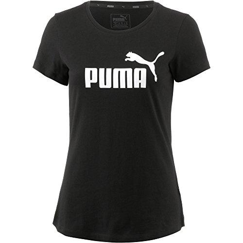 PUMA Essentials D, Maglietta Donna, Nero (Cotton Black), M