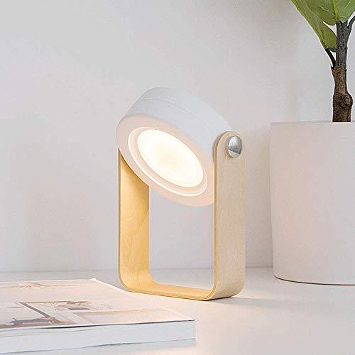 LLLKKK 360 Grad Kostenlose Einstellung Winkel LED Lichtquelle ABS Material 3D Nachtlicht Outdoor Hanging Tragbare Lampe Nachttischlampe Tischlampe