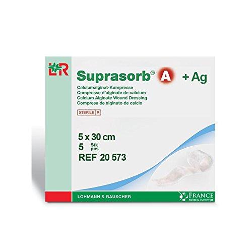 Pflaster Alginat von Calcium + Silber SUPRASORB® A 5x 30cm Boite de 520573