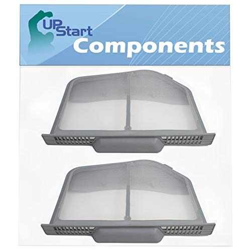 2-Pack DC97-16742A Dryer Lint Filter Replacement for Samsung DVG52M7750V/A3-00 - Compatible with DC97-16742A Lint Screen Trap Catcher