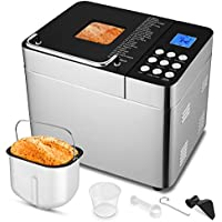 Homdox 25-in-1 Stainless Steel Programmable Breadmaker