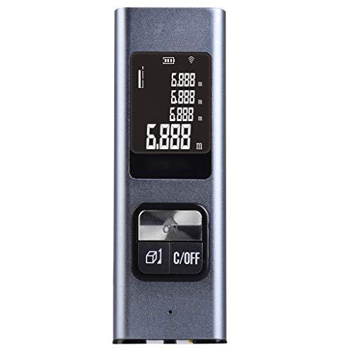 huyiko - Medidor de medición de 40 m Recargable portátil