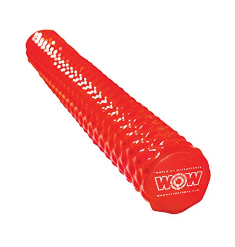 WoW Sports World of Watersports 17-2064R First Class Soft Dipped Foam Pool Noodle, Red