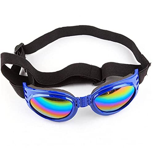 Pet Glasses Pieghevole Dog Goggles Protezione Degli Occhi Protezione UV Sunglasses Dog Pet Cat Accessori Pet Forniture Pet Piccolo Cane Medio Grande
