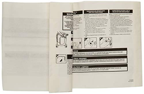 Shop-Vac 9066100 Genuine 3-piece 5-8-Gallon Collection Filter Bags