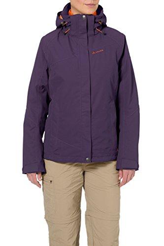 VAUDE Damen Tolstadh 3 in 1 Jacket, Elderberry, 38, 05288