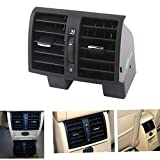 GOFORJUMP Ventilation de climatisation arrière de Voiture arrière 1TD819203A pour V/W V/W Touran Caddy 2004~2009 2010 2011 2012 2013 2014 2014