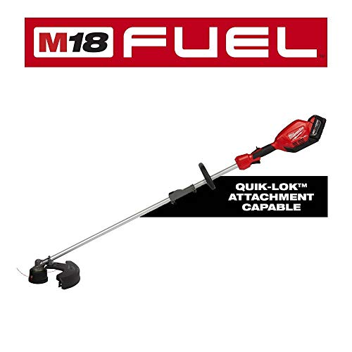 Great Features Of Milwaukee M18 Fuel 18-Volt Lithium-Ion Brushless Cordless String Trimmer Kit with ...