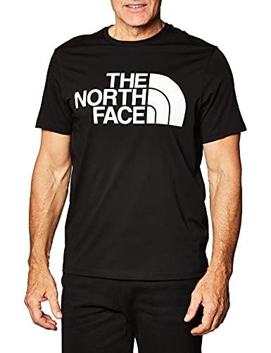 The North Face Camiseta para Hombre estándar SS tee Negro XL