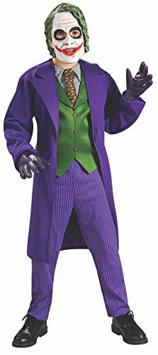 Rubies - Disfraz oficial deluxe de Joker para niños–talla S