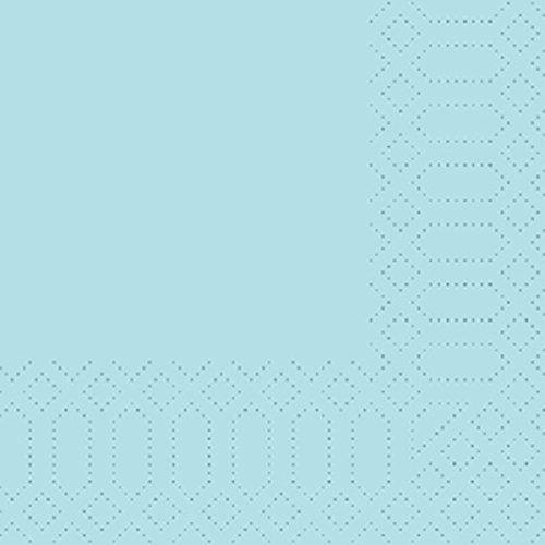 Duni Zelltuch Servietten, mint blau, 33cm, 250Stück