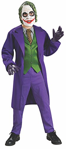 Rubie's Batman: The Dark Knight Trilogy The Joker Deluxe Child's Costume, Medium, Model:883106_M