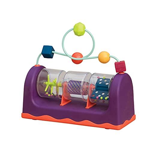 B. toys Baby Spielzeug Activity Center Baby mit Rassel und Motorikschleife – Motorikspielzeug für Babys ab 6 Monaten