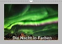 Die Nacht in Farben (Wandkalender 2022 DIN A4 quer): Erleben Sie die Naechte in Norwegen als Naturschauspiel. (Monatskalender, 14 Seiten )