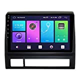 FDGBCF Car multimedia player GPS Navigation,Android Car Stereo Sat Nav for TOYOTA Tacoma & HILUX USA 2005-2014 Head Unit System SWC 4G WIFI BT USB Mirror Link Built-In Carplay