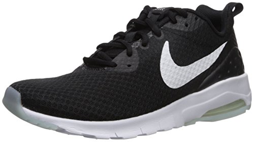 Nike Women's Air Max Motion LW Running Shoe, Black/White, 7 M US