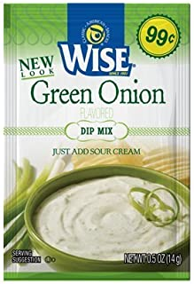 Wise Green Onion Dip Mix Packet 12 Pack