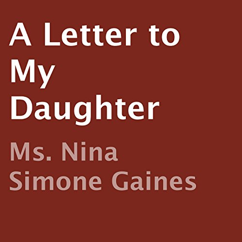 A Letter to My Daughter audiobook cover art