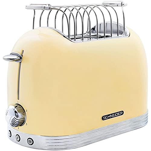 Schneider Toaster SL T2.2 SC, Creme/Chrom