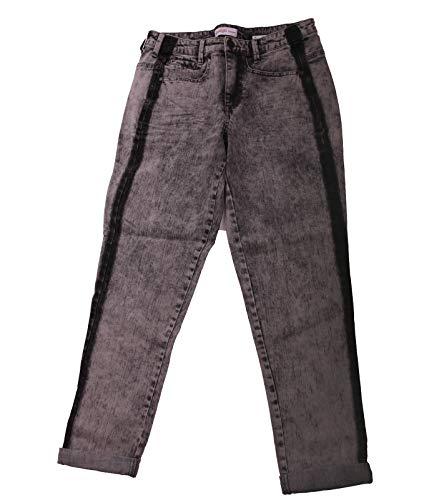 sheego Jeans Denim Pantaloni Elasticizzati da Donna alla Moda Jeans Casual Grigi, Dimensione:40