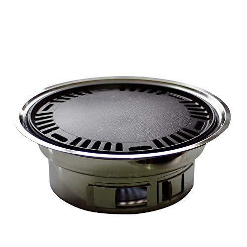 DQM Eenvoudige en handige houtskool grill hibachi konro yakiniku grill, geschikt voor feest, buiten, maaltijd, maken koken gemakkelijk brengen u heerlijk