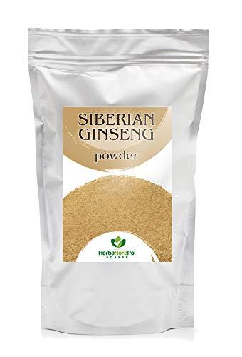 Polvo Ginseng siberiano, Micronizado en Europa, Eleuterococo senticosus. 200G