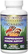 Host Defense - MyCommunity Multi Mushroom Capsules, Comprehensive Support for a Robust and Resilient Immune System with Lion's Mane, Turkey Tails, and Reishi, Non-GMO, Vegan, Organic, 120 Count (FFP)