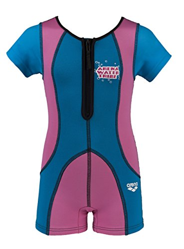 ARENA awt warmsuit Protection Gear, Juventud Unisex, Fuchsia-Blue, 7-8A