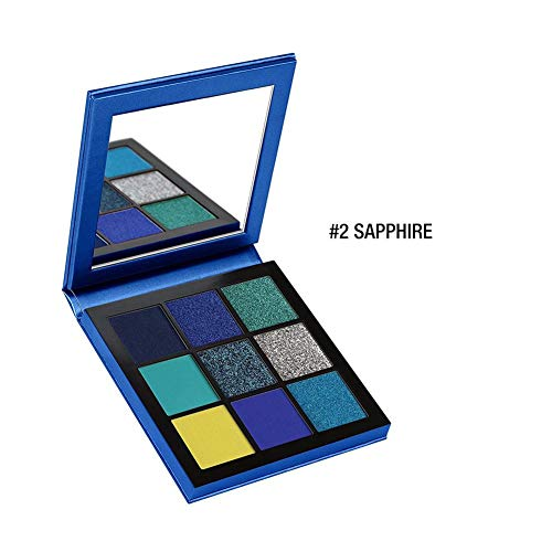 Ganmaov Lidschatten-Palette Cosmetic Fashion Eye Shadow Cream 9 Farben Matte Waterproof realistic...