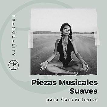 Piezas Musicales Suaves  para Concentrarse