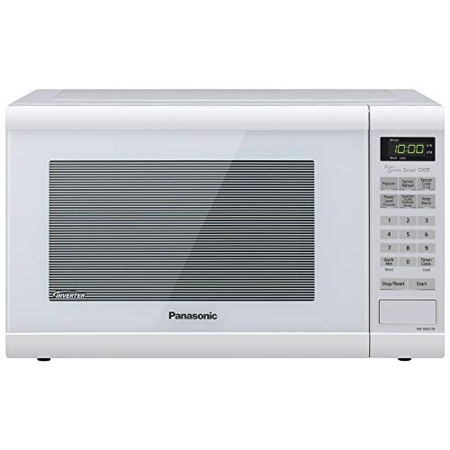 Panasonic NN-SN651WAZ Countertop Microwave with Inverter Technology, 1.2 cu. ft, 1200W, White