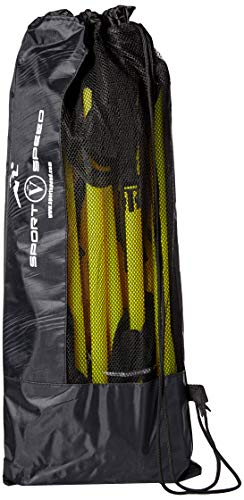 Sport Speed (Two) NO Cheat - Agility Ladders Round Rung Team Grade Heavy Duty with Free Carry Bag