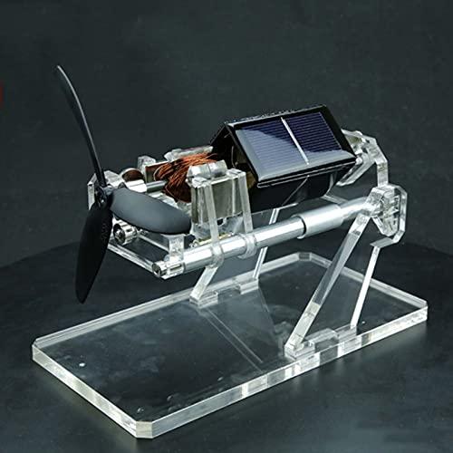CCCYT Juguete Solar del Motor Suspensión Magnética Motor Óptico Motivo De Movimiento Perpetuo De Energía Solar para El Regalo del Juguete De Escritorio Tecnología Obra Decoración
