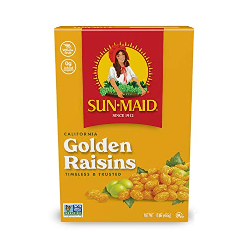 Sun-Maid Golden Raisins, 15 OZ (Pack of 2)