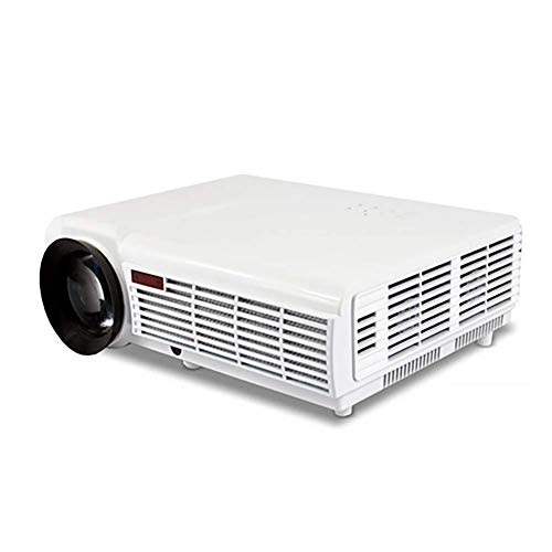 FHKBQ Proyector, LED96 Android WiFi Edition LED Home Office Teatro del Proyector HD 1080P