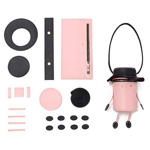 Bangcool DIY Bucket Bag Creatieve Leuke Mode Schoudertas Crossbody portemonnee voor Vrouwen Hoeden & Caps
