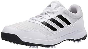 adidas Men s Tech Response Golf Shoe White 9 M US