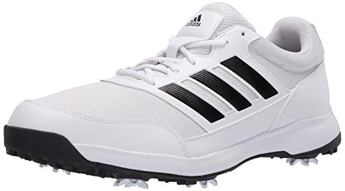 adidas Men's Tech Response 2.0 Golf Shoe, White, 9.5 Medium US