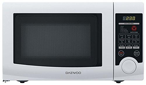 DAEWOO kor-6l3b Comptoir du Mikrowelle nur 20L 700W weiß Mikrowelle–Mikrowelle (Comptoir du, Mikrowelle nur, 20L, 700W, Berühren, weiß)