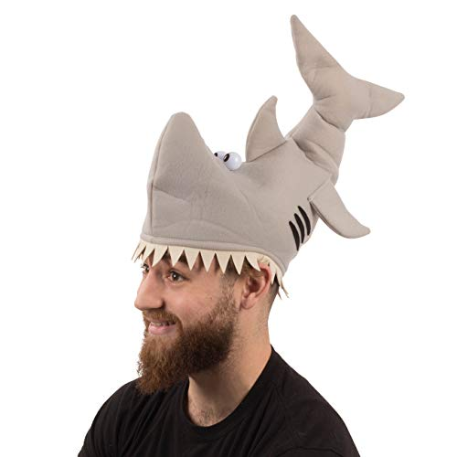 Funny Party Hats Shark Hat - Adults…