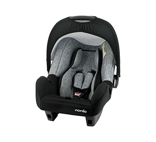 Nania BEONE baby car seat group 0+ (0-13kg) - (Silver)