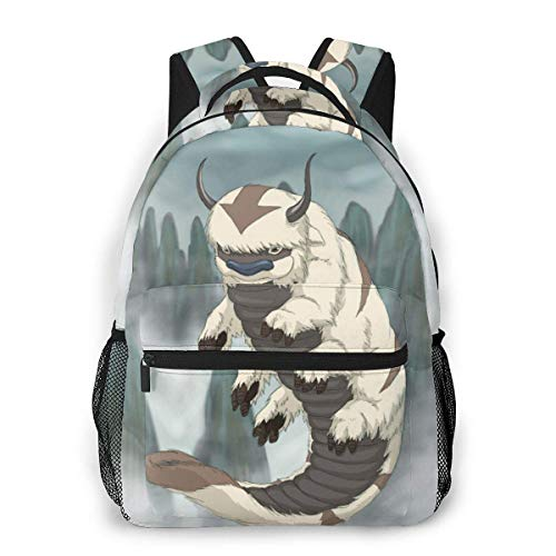 IUBBKI 3D Print Avatar-Appa Casual Backpack,Multifunctional Schoolbag Knapsack Rucksack