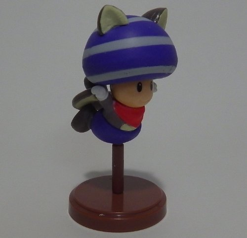 Furuta Choco Egg~new Super Mario Bros U Figure ~Flying squirrel toad blue Figurine