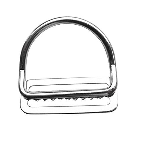 Vaorwne Tauchen D-Ring Rite Tauchen Gurt Band Halter Clip Harness BCD Gewichts GüRtel Bewahrer Schieberegler